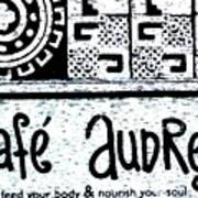 Cafe Audrey Poster