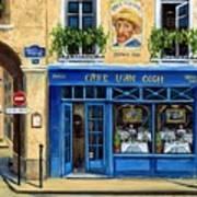 Cafe Van Gogh II Poster