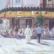 Cafe Zanzibar. Fez Poster