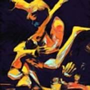 Cage Fighters Poster by Deborah Lee