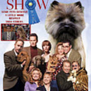 Cairn Terrier Art Canvas Print - Best In Show Movie Poster Poster