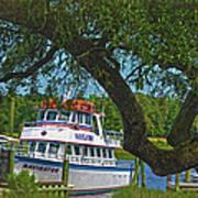 Calabash Deep Sea Fishing Boat Poster