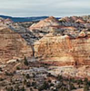 Calf Creek Canyon Grand Staircase Escalante Utah Poster