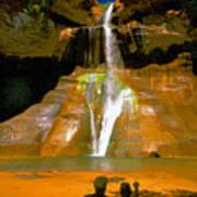 Calf Creek Falls Utah Poster