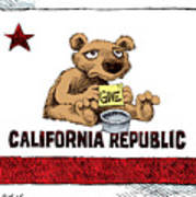 California Budget Begging Poster
