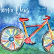 California Days - Art By Linda Woods Poster