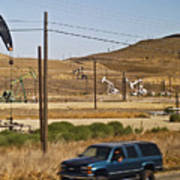 California Oil Field 14pdxl077 Poster