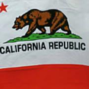 California Republic Flag Poster