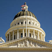 California State Capitol Cupola Poster