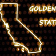 California - The Golden State Poster