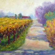 California Wine Country Poster