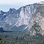 California: Yosemite Valley Poster