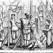 Calisthenics, 1867 Poster
