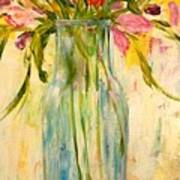 Calla Lilies Poster by Barbara Pirkle