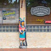 Calle Ocho Cigar Indian Poster