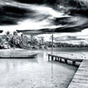 Calm At Boca Del Drago Panama Poster