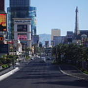 Calm On Vegas Strip Poster