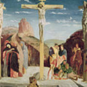 Calvary Poster by Andrea Mantegna