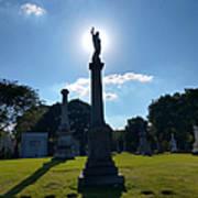 Calvary Catholic Cemetery Poster