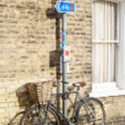 Cambridge Bikes 5 Poster