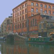 camden lock London Poster