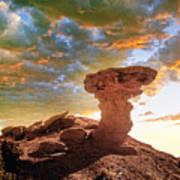 Camel Rock Poster