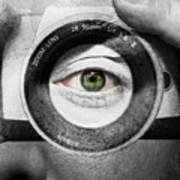Camera Face Poster