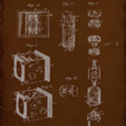 Camera Patent Drawing 2e Poster