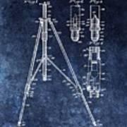 Camera Tripod Patent Poster
