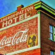 Cameron Patterson Hotel Poster