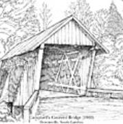 Campbell's Covered Bridge Poster