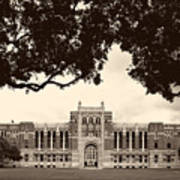 Campus Of Rice University Poster