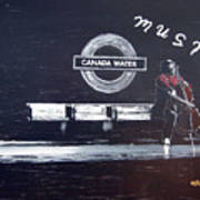 Canada Water Music Poster