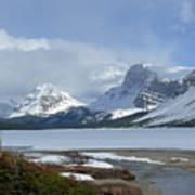 Canadian Rockies Bow Lake Poster