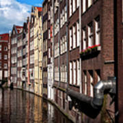Canal Houses Poster