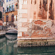 Canal In Venice, Italy Poster