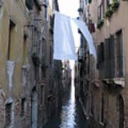 Canal. Venice Poster by Bernard Jaubert