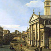 Canaletto Poster
