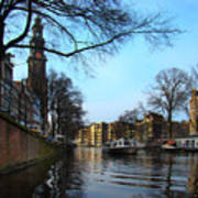 Canals Of Amsterdam IIi Poster