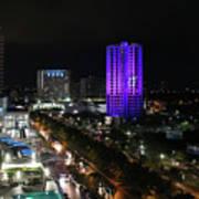 Cancun Mexico - Downtown Cancun Poster