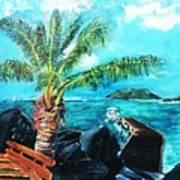 Cane Garden Bay Tortola 1997 Poster
