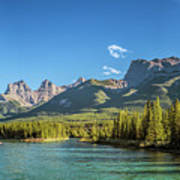 Canmore Alberta Golden Hour Poster
