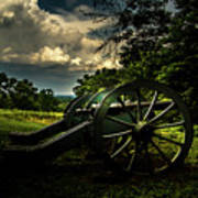 Cannon Encampment Valley Forge Poster