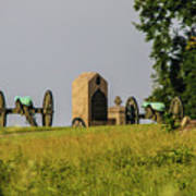 Cannons Behind Hancock Avenue Poster