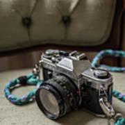 Canon Ae-1 Film Camera Poster