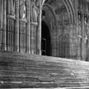 Canterbury Cathedral Choir Entrance Canterbury England Poster