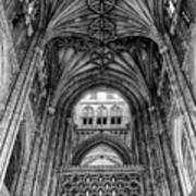Canterbury Cathedral - Interior Poster