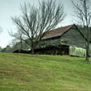 Cantilever Barn Sevier County Tennessee Poster
