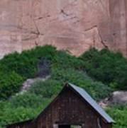 Canyon Barn Poster
