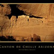 Canyon De Chelly Arizona Black Border Poster